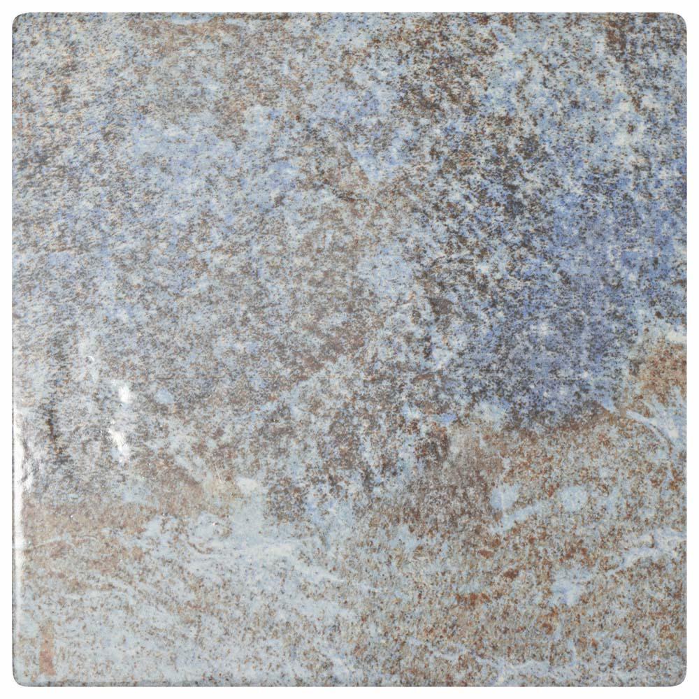 Merola Tile Ocean Azul Sea 6 In X 6 In Porcelain Floor