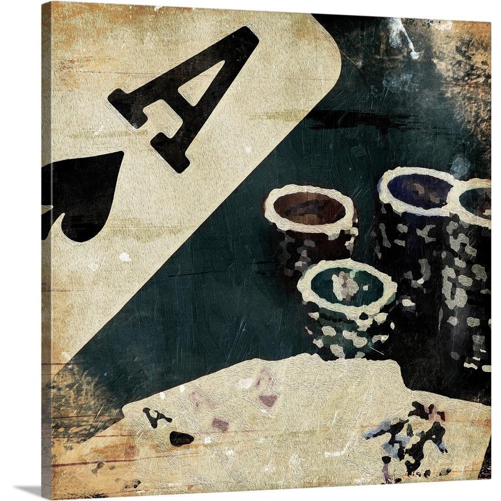 24 x 24 Be Still Poster Print by Jace Grey