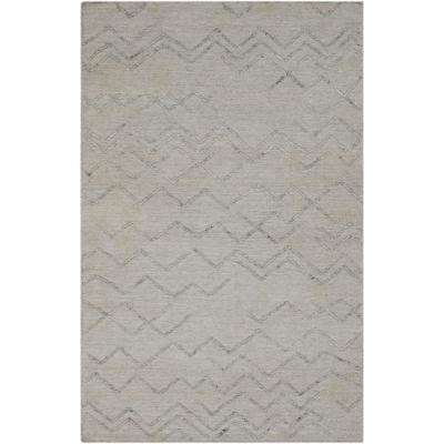 Absolon Beige 5 ft. x 8 ft. Area Rug