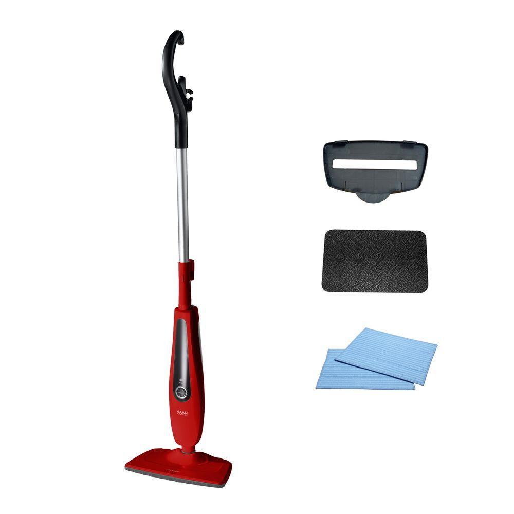 HAAN Slim and Light Steam Mop - Red