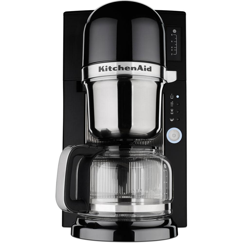 KitchenAid 8-Cup Coffee Maker-KCM0801OB - The Home Depot on black and decker coffee maker, braun coffee maker, thermal coffee maker, viking coffee maker, coffee maker grinder, thermal carafe coffee maker, capresso coffee maker, dual coffee maker, 14 cup coffee maker, starbucks coffee maker, automatic coffee machines, cuisinart coffee maker, blue coffee maker, 4 cup coffee makers, 1 cup coffee maker, 4 cup coffee maker, spacemaker coffee maker, vacuum coffee maker, farberware coffee maker, black & decker coffee maker, bunn coffee maker, target red coffee maker, 60 cup coffee maker, mr coffee maker, grind and brew coffee makers, 12 cup coffee maker, personal coffee maker, under cabinet coffee maker, nespresso coffee maker,