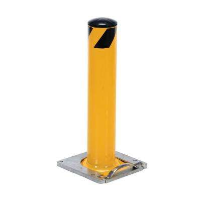 48 in. X 4.5 in. Surface Mounted Steel Pipe Safety Bollard