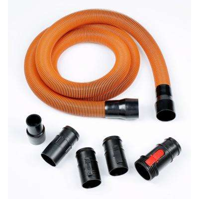 1-7/8 in. x 10 ft. Pro-Grade Locking Hose Kit for RIDGID Wet/Dry Vacs