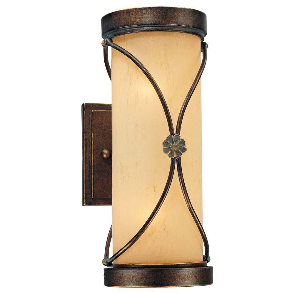 Minka Lavery Atterbury 2-Light Deep Flax Bronze Bath Light