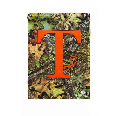 Mossy Oak 2-1/2 ft. x 3-2/3 ft. Monogrammed T 2-Sided Sublimated House Flag