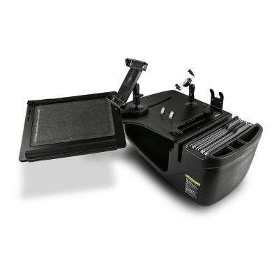 Reach Desk Front Seat Black with Built-in Power Inverter, Printer Stand, X-Grip Phone Mount and iPad/Tablet Mount