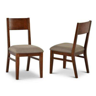 Adeline Walnut Side Chair (Set of 2)