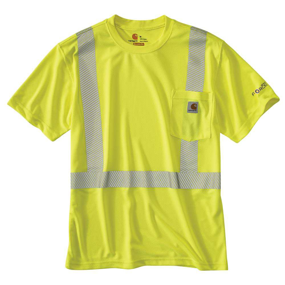 Personal Protective Regular X Large Brite Lime Polyester Short-Sleeve T-Shirt