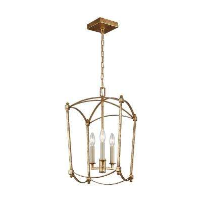 Thayer 3-Light Antique Guild Chandelier