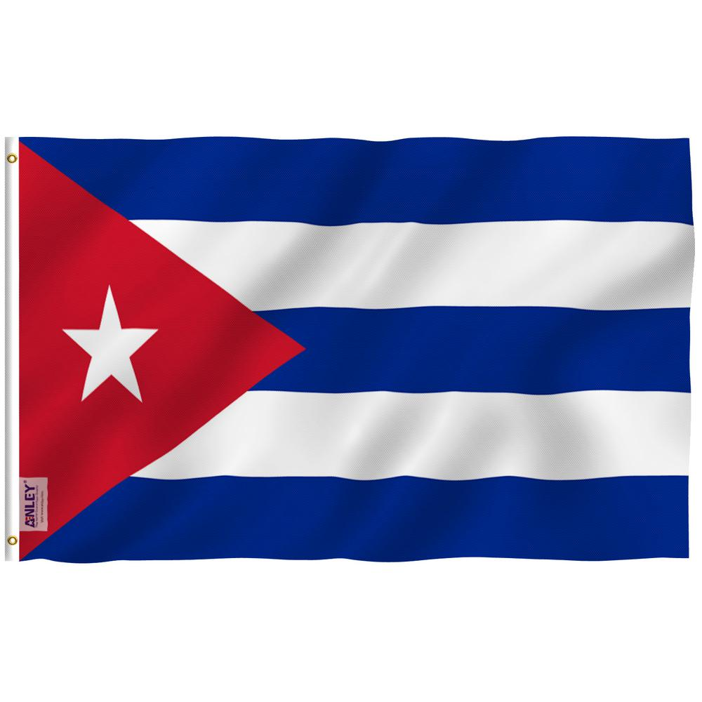 Anley Fly Breeze 3 Ft X 5 Ft Polyester Cuba Flag 2 Sided