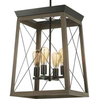 Briarwood 4-Light Antique Bronze Pendant