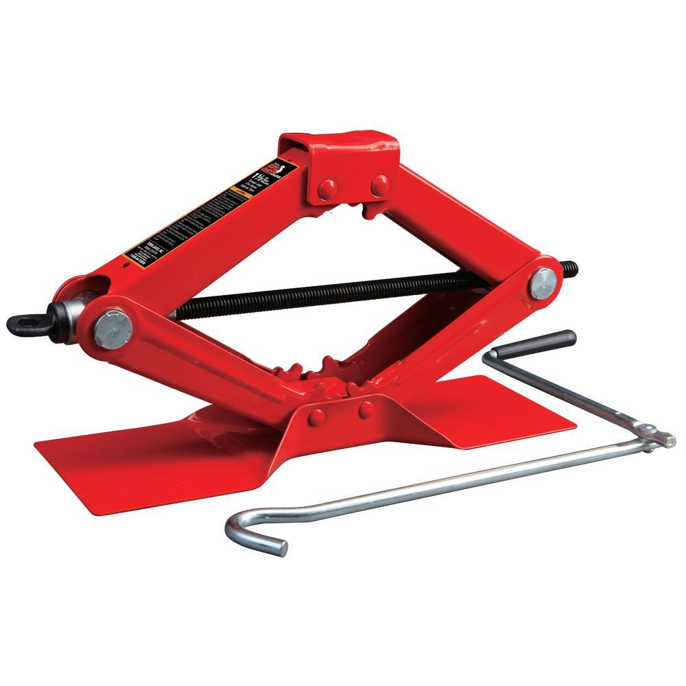 Big Red 1 5 Ton Scissor Jack T10152 The Home Depot