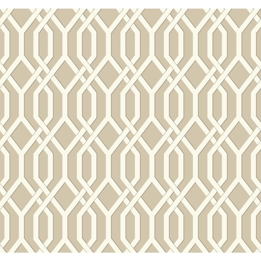 Ashford Geometrics Garden Pergola Wallpaper