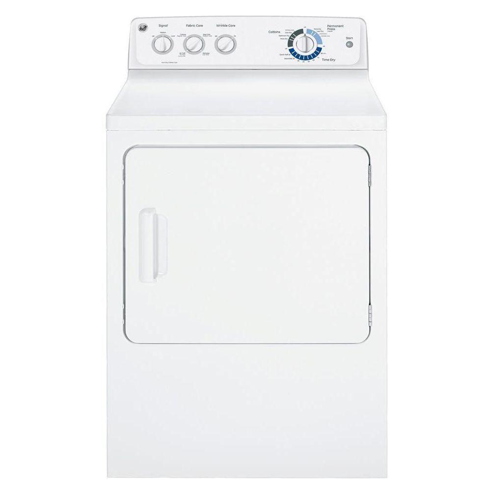 GE 7.0 cu. ft. Capacity DuraDrum Electric Dryer