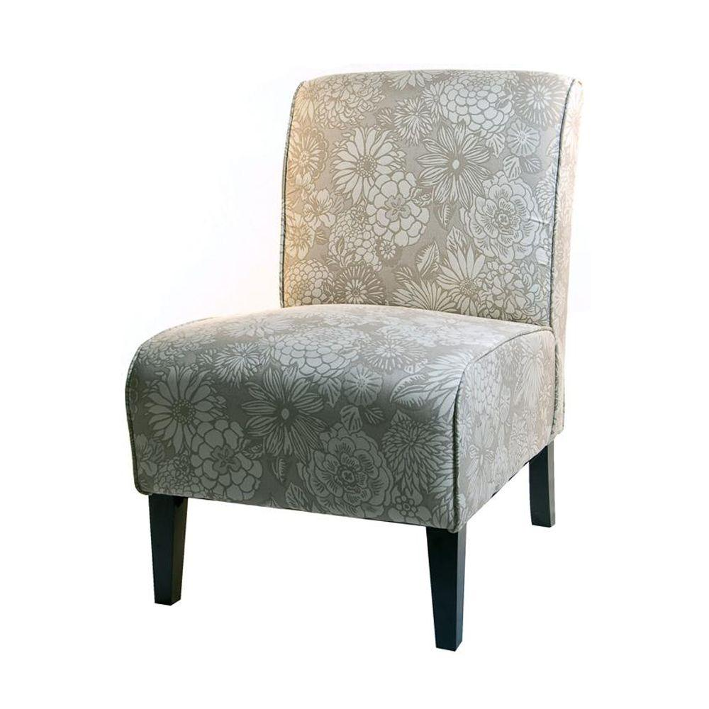 Home Decorators Collection Vincent 22.5 in. W Mist Slipper Chair