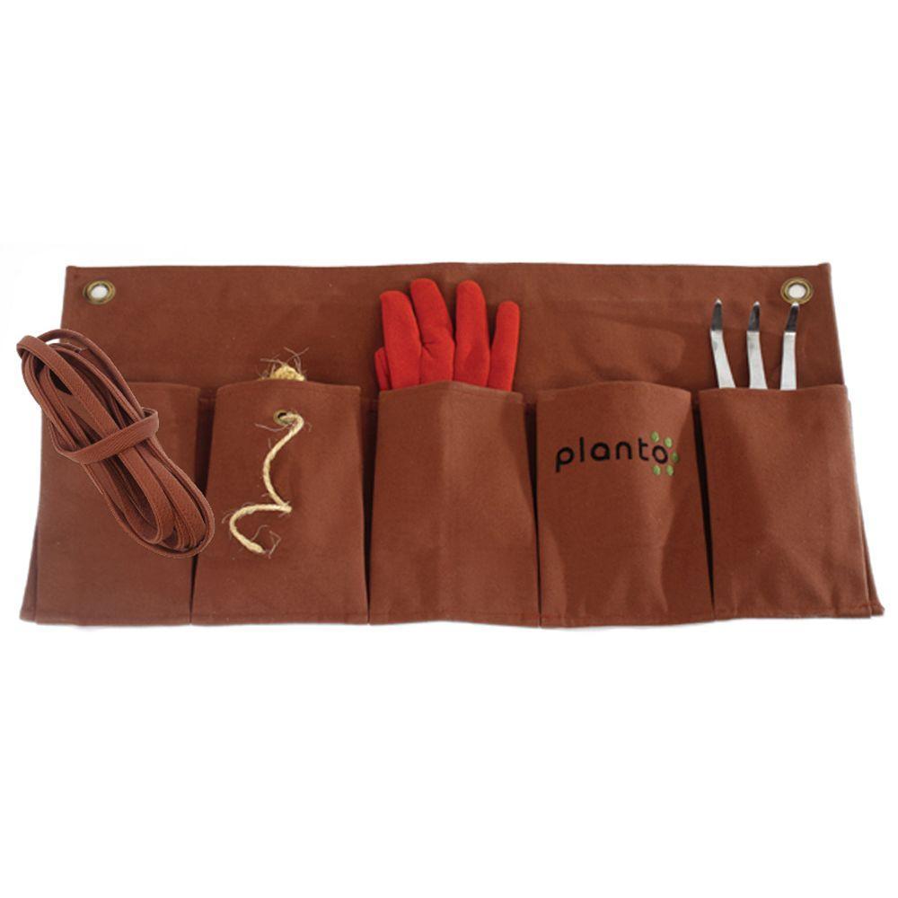 Planto 14 in. x 17 in. Apron and Organizer