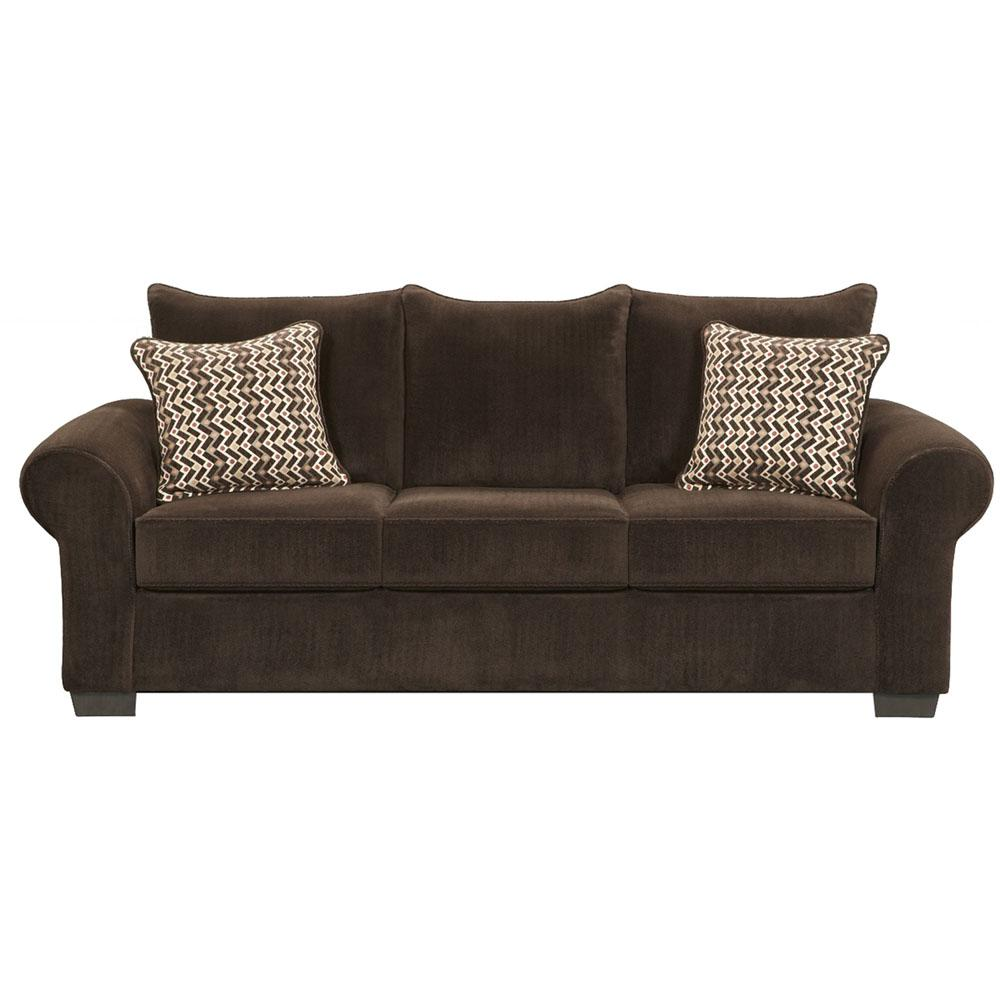 Brown Set Sofa Loveseat Large Chair