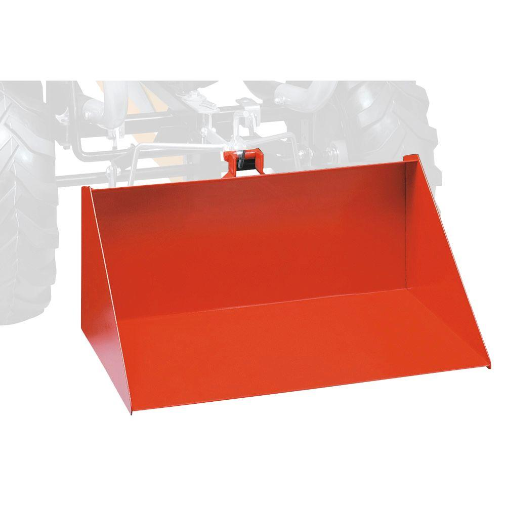 null Red Lift Bucket for Full-Size Tractor Pedal Go-Karts