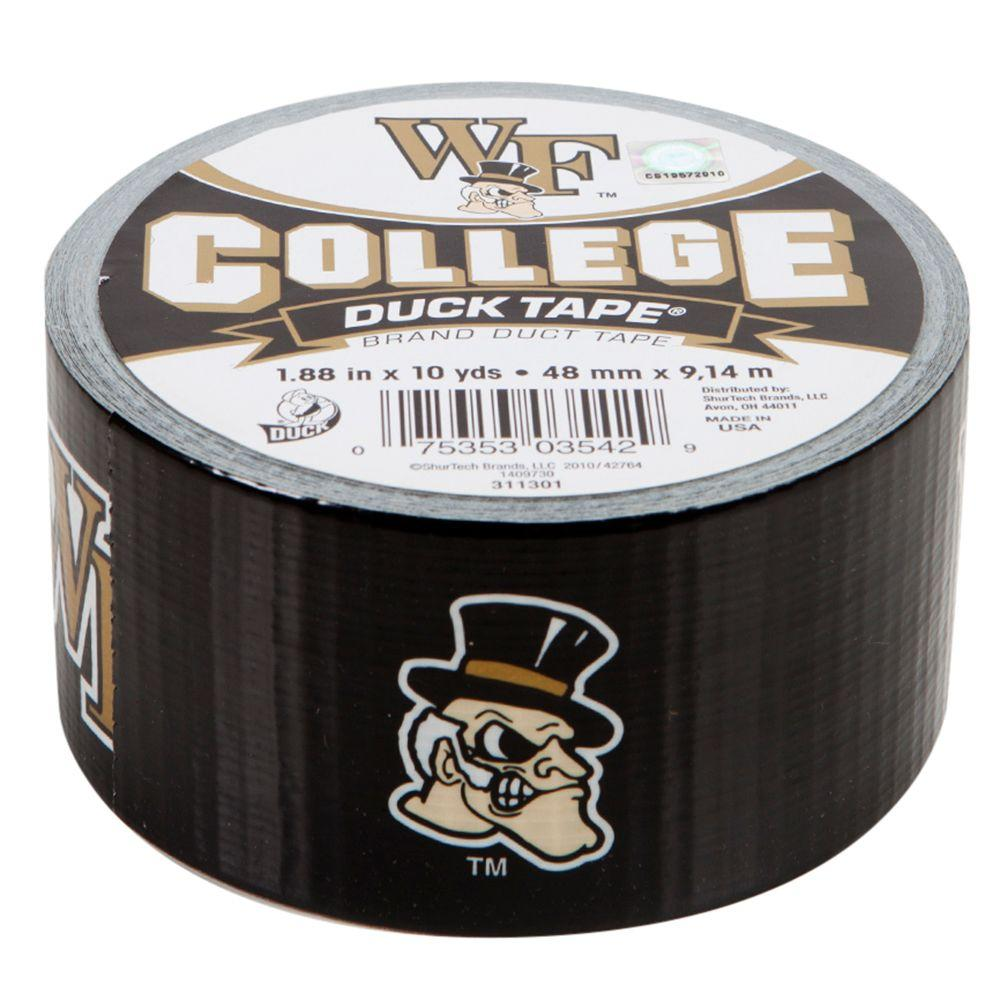 Duck College 1-7/8 in. x 10 yds. Wake Forest University Duct Tape