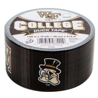 College 1-7/8 in. x 10 yds. Wake Forest University Duct Tape