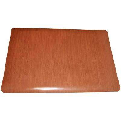 Soft Woods Walnut 36 in. x 60 in. Double Sponge Vinyl Indoor Anti Fatigue Floor Mat