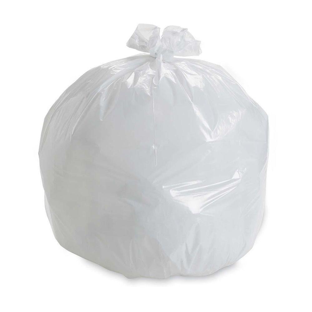 Hefty 13 gal. Cinch Sak Tall White Kitchen Waste Bag (85-Count)