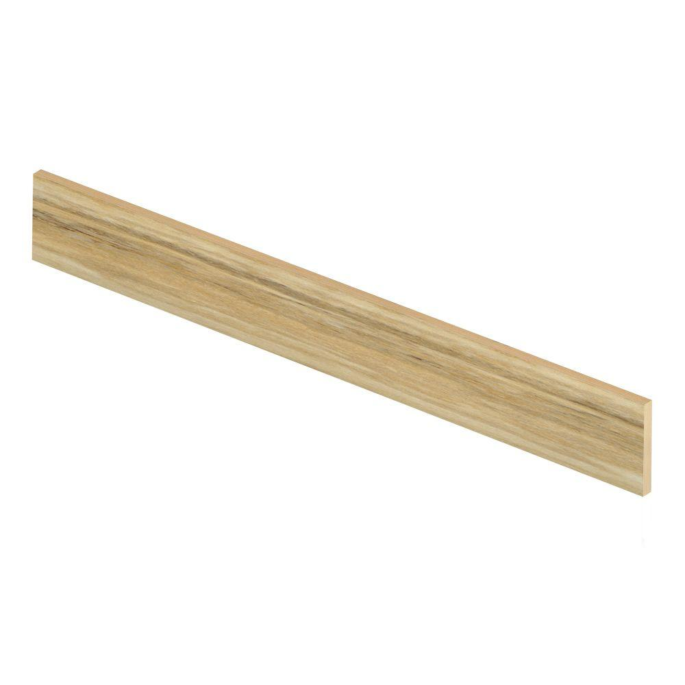 Aegean Travertine Ivory 47 in. Long x 1/2 in. Deep x 7-3/...