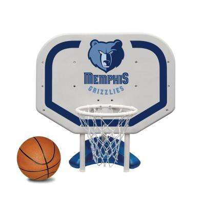 Memphis Grizzlies NBA Pro Rebounder Swimming Pool Basketball Game