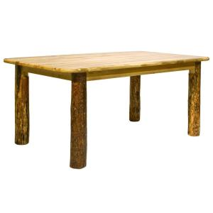 Etonnant +3. Montana Woodworks Glacier Country Stained And Lacquered Skirted Dining  Table