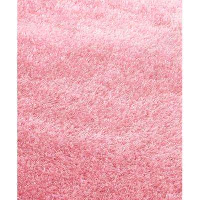 Chubby Solid 8 ft x 11 ft Soft Hand Tufted Shaggy Area Rug. 100% Polyester.