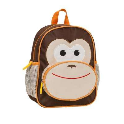 12.5 in. Jr. My First Backpack, Monkey