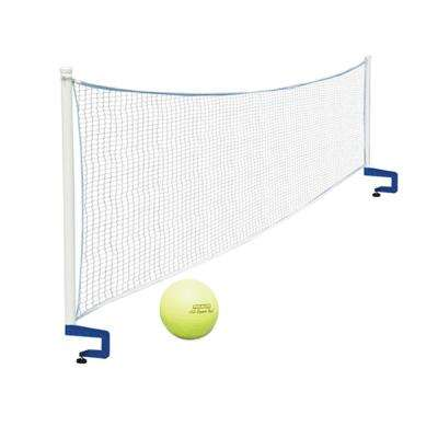 Above-Ground Mounted Poolside Volleyball Game Pool Toy