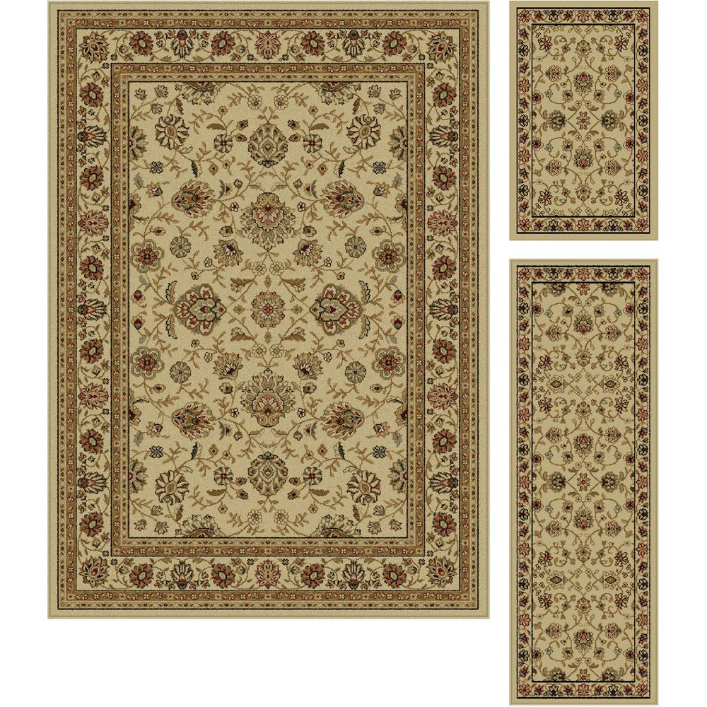 rug set kitchen dining achim crown navy royal capri piece dp furnishings amazon com home