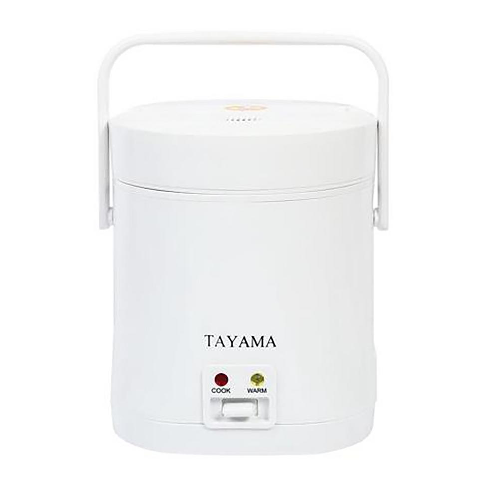 Tayama Tayama 1.5-Cup Rice Cooker, White