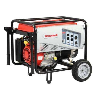 5,500-Watt Gas Powered Portable Generator