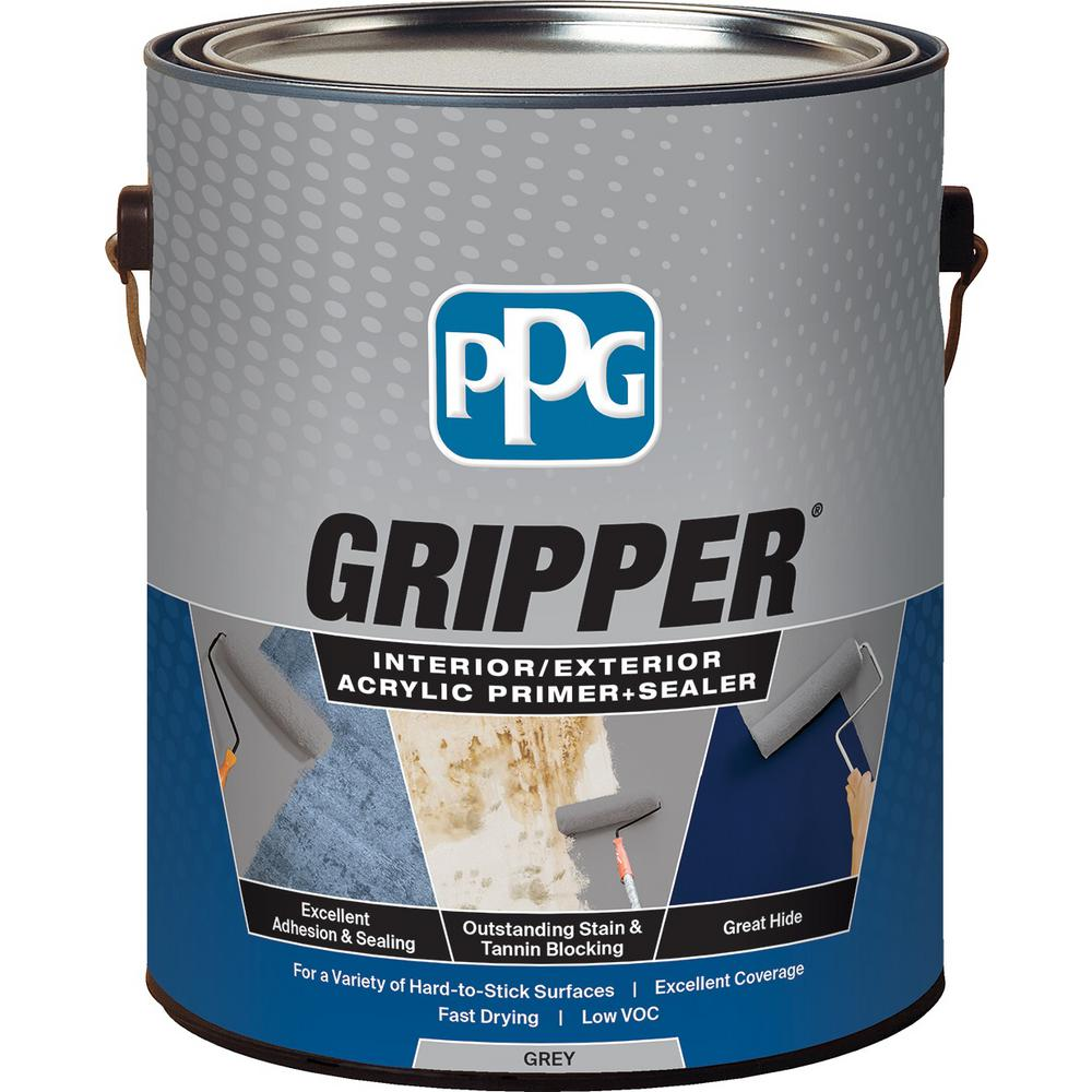PPG Gripper 1 gal. Grey Interior/Exterior Acrylic Primer Sealer