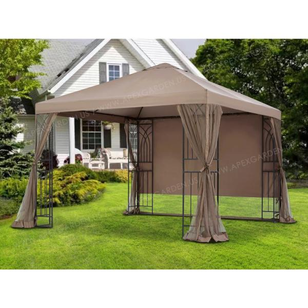 APEX GARDEN Universal 14-ft Privacy Panel Curtain//Side Wall Sunshade One Side Only W H 14 Ft, 168 x 84