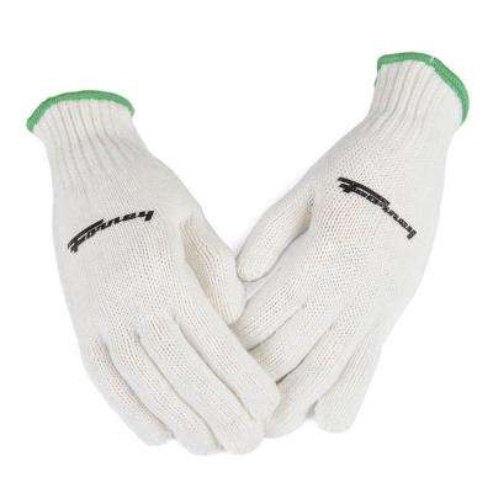 String Knit Gloves (Size L)