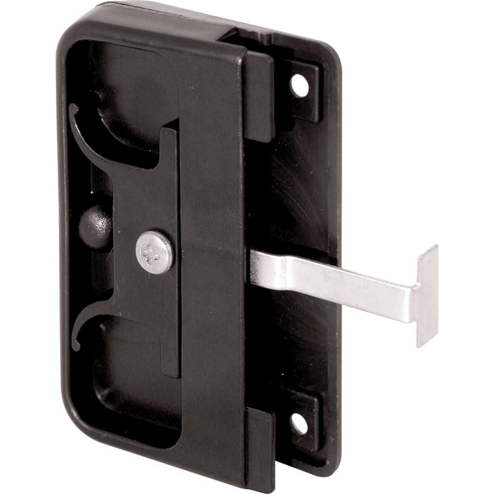 Plastic Sliding Screen Door Pull with Sliding Latch