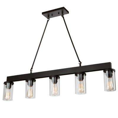 rustic - pool table lights - lighting - the home depot