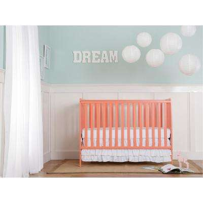Synergy Fusion Coral 5-in-1 Convertible Crib