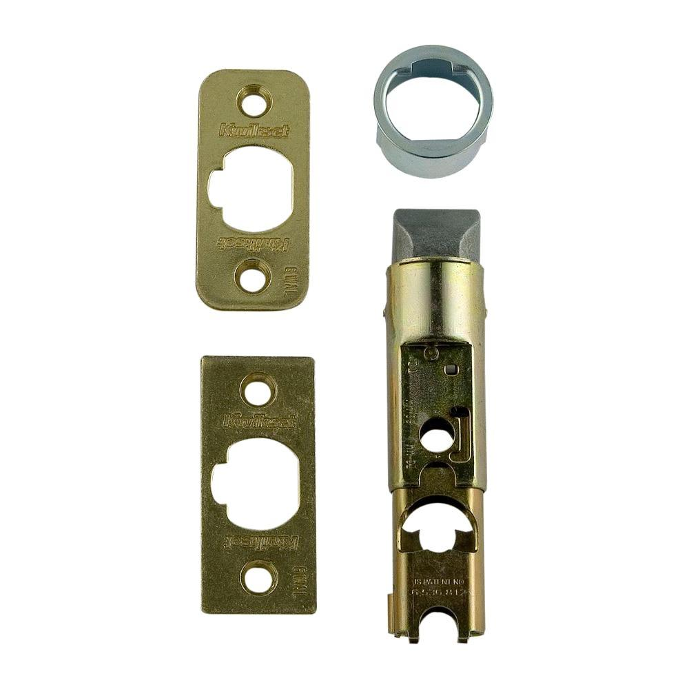 Kwikset 6 Way Adjustable Lock Plain Latch 19843 6WAL PL CP 3 The