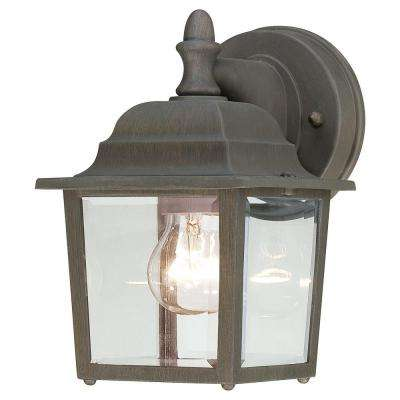 Covington 1-Light Painted Bronze Outdoor Wall-Mount Lantern