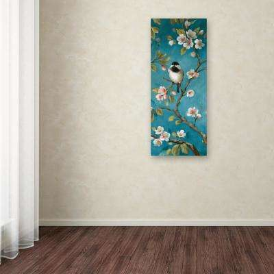 """19 in. x 8 in. """"Blossom IV"""" by Lisa Audit Printed Canvas Wall Art"""