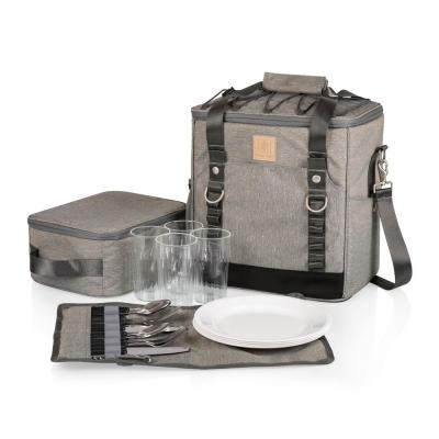 PT-Frontier Heathered Gray Picnic Utility Cooler