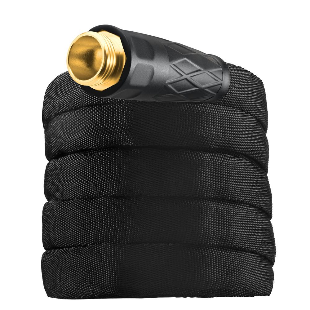 Bionic 5/8 in. Dia x 100 ft. High Performance Heavy-Duty Garden Hose with Spray Nozzle