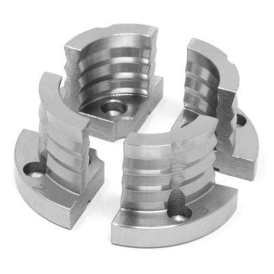 1.25 in. Double-Grooved Lathe Chuck Jaws
