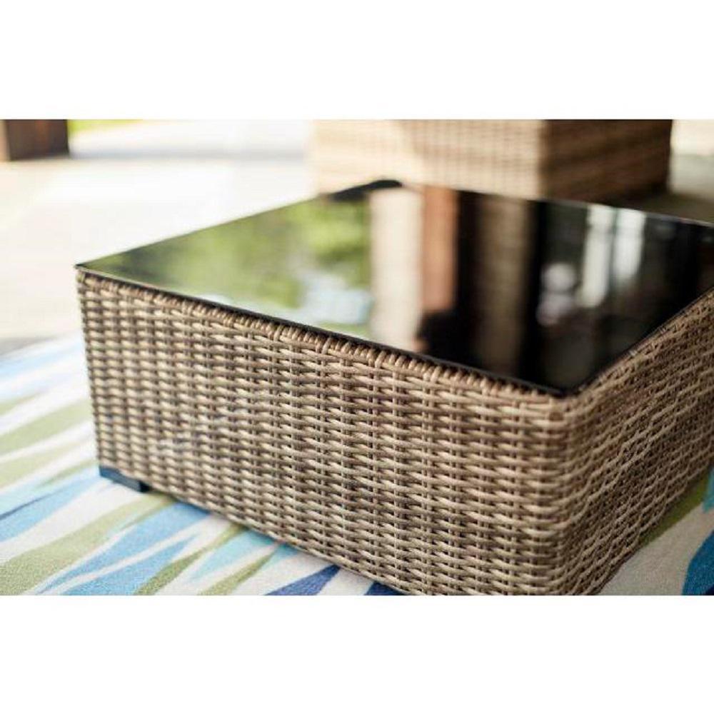 Hampton Bay Muirwood Aluminum Outdoor Coffee Table-731