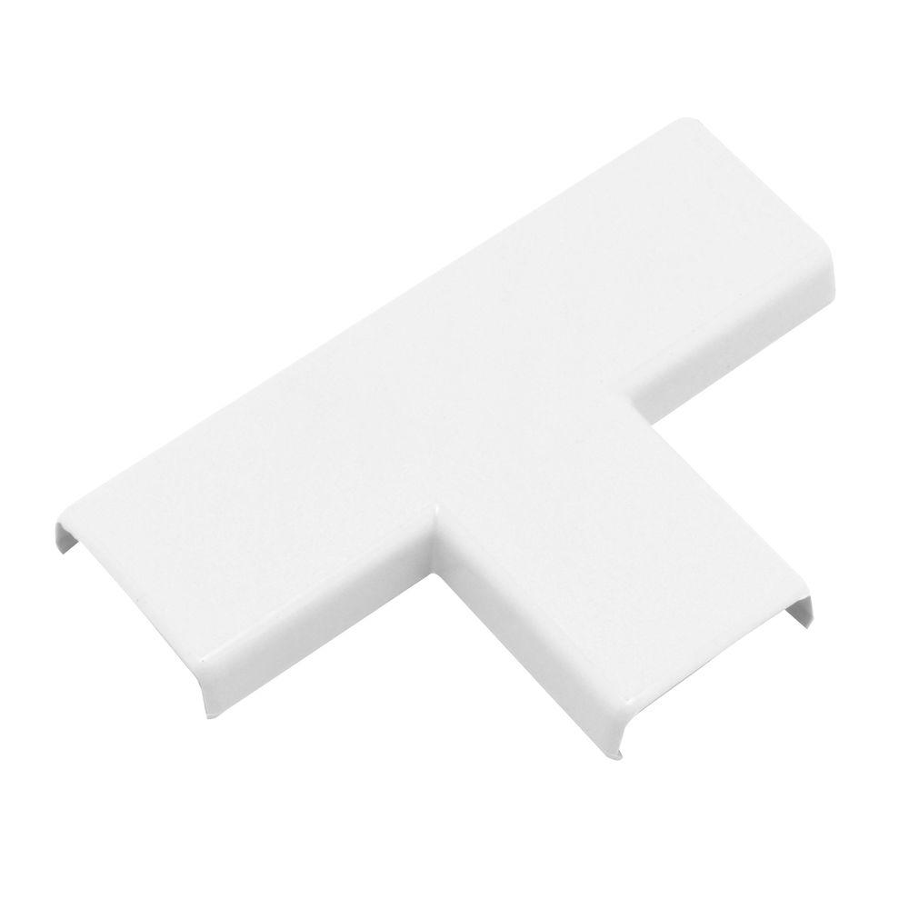 Legrand Wiremold Non-Metallic T-Fitting, White-NMW11 - The Home Depot