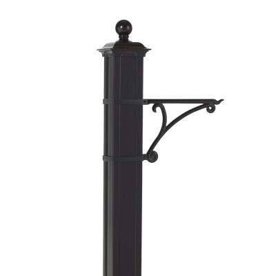 Balmoral Black Post Plant Hook